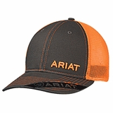 Ariat Orange Mesh Logo Baseball Cap 1503126