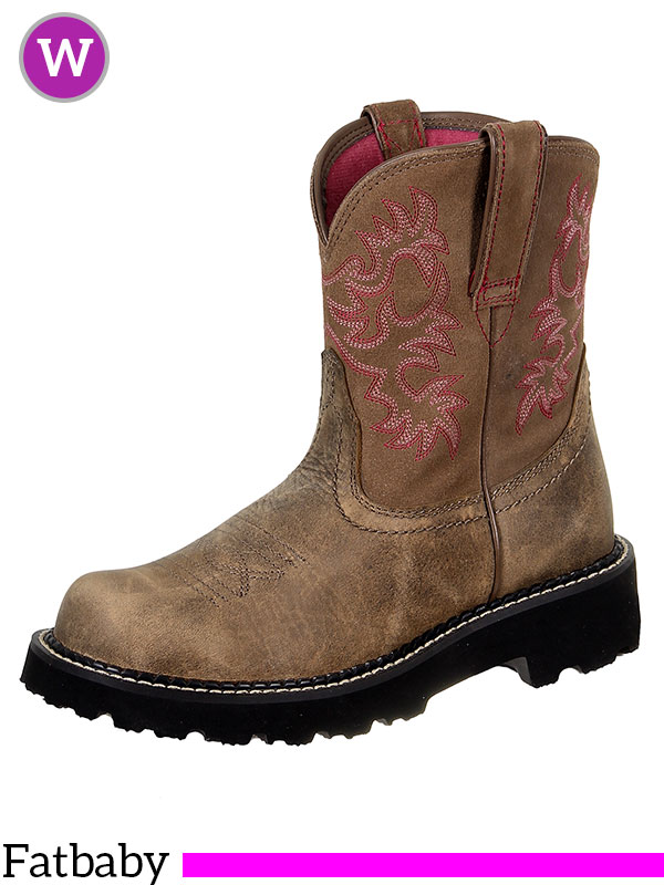 Women S Ariat Brown Bomber Original Fatbaby Boots 10000822