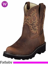Ariat Women's Fatbaby Original Boots Distressed Brown 10007646