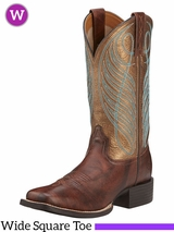 Ariat Women's Round Up Wide Square Toe Boots 10016317