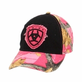 Ariat Womens Hot Pink Camo Ball Cap 15110279