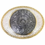Aztec Calendar Belt Buckle by Crumrine C01617