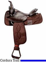 "** SALE ** 16"" Big Horn Extra Wide Trail Saddle 306"