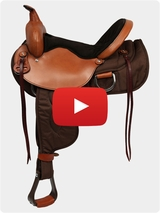 Big Horn Lady Light Weight Trail Saddle 320 & 330 Series Review Video