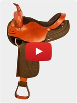 Big Horn Light Weight Haflinger Extra Wide Saddle 291-292 Review Video