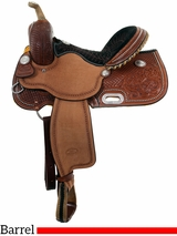 """** SALE ** 14"""" to 16"""" Billy Cook BW Barrel Racing Saddle 1930"""