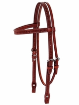 Billy Cook Star Tooled Browband Headstall 11-792