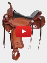 Billy Cook Trail Saddle 1855 Video Review