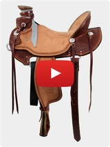 Billy Cook Wade Ranch Saddle 2197 Video Review