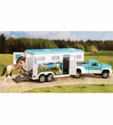 Breyer Pick Up Truck & Gooseneck Trailer 5356