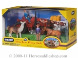 Breyer Stablemates Tractor Play Set 5410