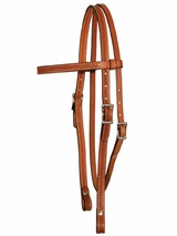 Browband Basketweave Headstall by Circle Y 0125-7204