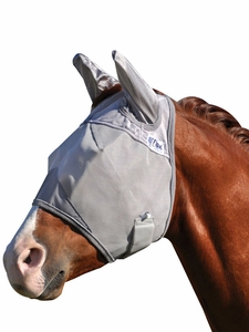 Cashel Crusader Premium Fly Mask Standard With Ears CFMSE