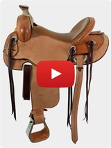 Cashel Drover Roughout Trail Saddle DR Video Review