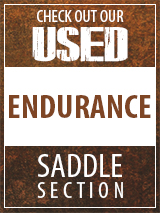 Check out our Used Endurance Saddle section