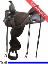 "16.5"" Circle Y Cloud Peak Tree Free Trail Saddle 1300 CLEARANCE"