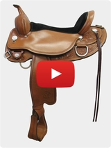 Circle Y Cottonwood Flex2 Trail Saddle 2361 Review Video