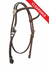 Circle Y Floral Broadband Headstall 0205 CLEARANCE