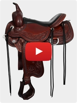 Circle Y Julie Goodnight Monarch Flex2 Trail Saddle 1752 Review Video