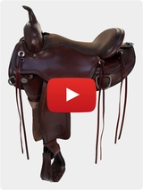 Circle Y Omaha Flex Tree Saddle 1554 Video Review