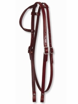 Circle Y One Ear Headstall with Throatlatch 0119-58