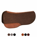 Circle Y Round Skirt Wool Felt Saddle Pad 55