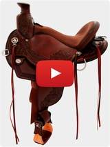 Circle Y Walnut Grove Saddle 1157 Video Review