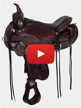 Circle Y Wind River Flex2 Trail Julie Goodnight Saddle 1750 Review Video
