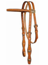 SOLD OUT Courts Basket Browband Headstall 100-6202