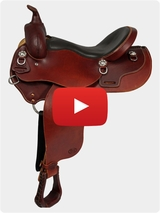 Courts Saddlery Trail Saddle 97001B Video Review