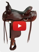 Courts Saddlery Trail Saddle 9788RB Video Review