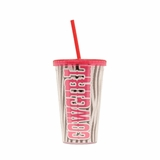 Cowgirl Insulated Cup with Straw 94043