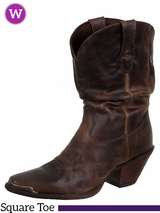 Crush by Durango Women's Brown Sultry Slouch Boot RD3494