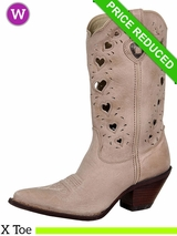 Crush by Durango Women's Taupe Heartfelt Boot rd3421 CLEARANCE