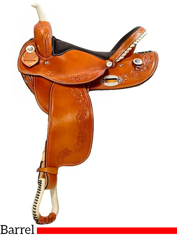 14 Quot To 16 Quot Dakota Barrel Saddle 345