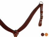 Dakota Saddlery Basketweave Breastcollar BS-11
