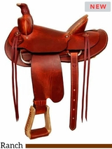 ** SALE ** Dakota Working Ranch Saddle 557
