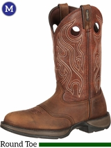 Men's Durango Rebel Brown Saddle Boots DB5474