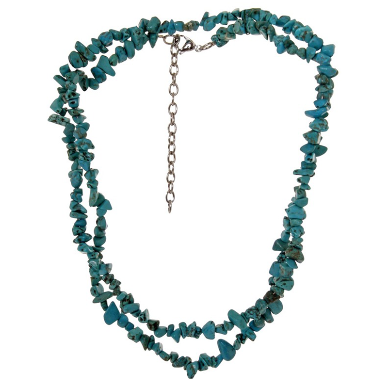 green turquoise western necklace from m f 29346