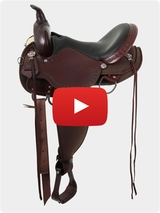 High Horse by Circle Y Daisetta Cordura Trail Saddle 6914 Video Review