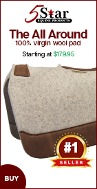 5 Star All Around Saddle Pad