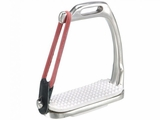 JT EquiRoyal Peacock Stirrup Irons 24-913