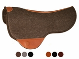 Just-B-Natural Dropped Front Round Skirt Felt Pad by Circle Y 73