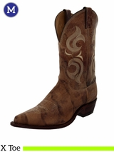 Justin Boots Men's Western Puma Tan Boots BR103 ZDS