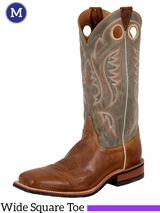 Justin Boots Mens Bent Rail Tan Arizona Cowhide Boots BR354