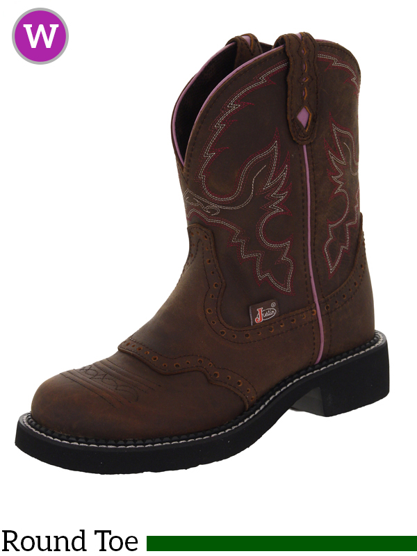 Simple Womenu0026#39;s Justin 11u0026quot; Composite Toe Stampede Pull-on Boots Rugged Tan - 582235 Cowboy U0026 Western ...