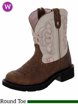 Justin Boots Women's Justin Gypsy Barnwood Brown Cowhide Boots L9924
