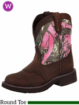 Justin Boots Women's Justin Gypsy Pink Camo Boots L9610