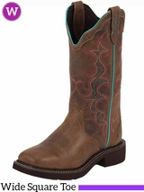 Women's Justin Tan Jaguar Gypsy� Boots L2900