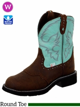 Justin Boots Women's Justin Gypsy Turquoise Cow Boots L9915 ZDS